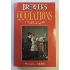 Brewer's Quotations