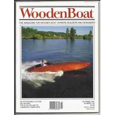 Wooden Boat October 1991