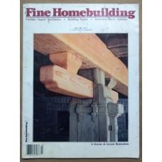 Fine Homebuilding Magazine March 1992