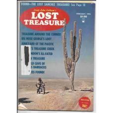 Lost Treasure Magazine - February 1976 - Vol. 1 No. 3