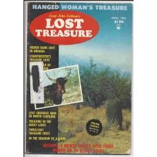 Lost Treasure Magazine - April 1976 - Vol. 1 No. 5