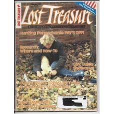 Lost Treasure Magazine - January 1989 - Vol. 14 No. 1