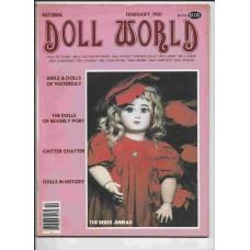 Doll World - January/February 1981 - Vol. 5 No. 1