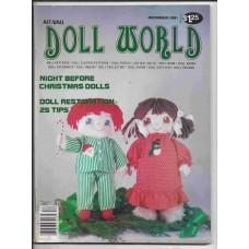 Doll World - November/December 1981 - Vol. 5 No. 6