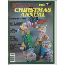 Doll World Christmas Annual 1981