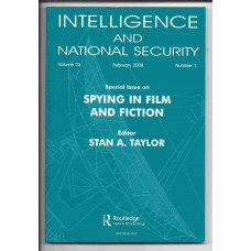 Intelligence and National Security - February 2008 - Vol. 23 No. 1