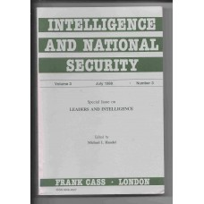 Intelligence and National Security - July 1988 - Vol. 3 No. 3