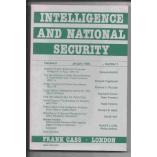 Intelligence and National Security - January 1988 - Vol. 3 No. 1