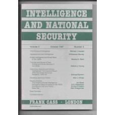 Intelligence and National Security - October 1987 - Vol. 2 No. 4