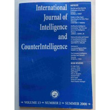 International Journal of Intelligence and Counterintelligence Summer 2000 Vol. 13 No. 2