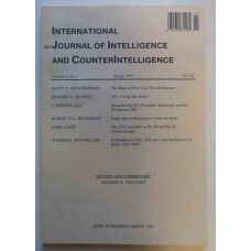 International Journal of Intelligence and Counterintelligence Spring 1995